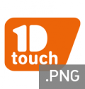 Logo 1D touch - PNG